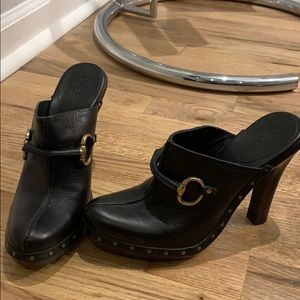 Gucci Leather Horsebit Mules-Never Worn! Size 6